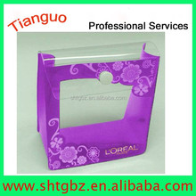 PVC Clear Plastic Cosmetic Bag Travel Make Up Case