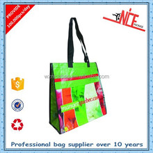 eco-friendly bopp film laminated pp woven bags promotional