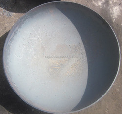 elliptical head gland tank cover for gas boiler