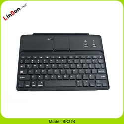 2014 High Demand Products wireless bluetooth smart keyboard case for ipad with stand