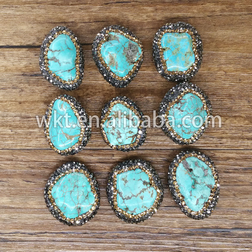 Wholesale natural turquoise handmade jewelry natural for Unique stones for jewelry making