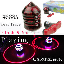 Hot sell!!! spinning top with light music For kids MJ602754