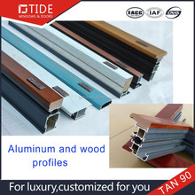 2015 hot sale new Construction Building materials for alu wood window,trade assurance service