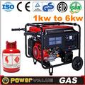 2014 home espera gerador de gás 2.5kw 2.5 kva gerador de gás natural para a venda com preço de fábrica