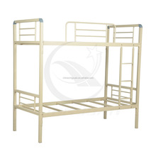 china good quality multi-utility knock down metal bunk bed/single bed for sale