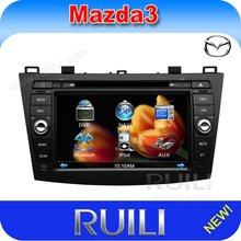 Bluetooth Mazda 3 car audio cd player with gps navigation