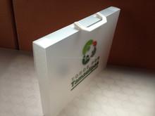 PP Plastic A4 portable carry folder document case