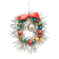 2014 new design christmas silver ball ornament from China factory