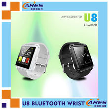 sport U8 android gps smart watch connect with smart phone bluetooth 3.0