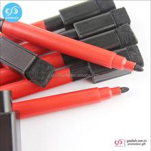 Wholesale black ink dry erase markers bulk felt tip magnetic mini erasable pen