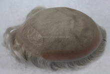 best seller Swissl lace indian men hair toupee wig