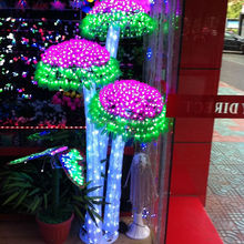 24V/110V/220V Outdoor attractive lighted acrylic trees led christmas decor magic cheap articles for halloween