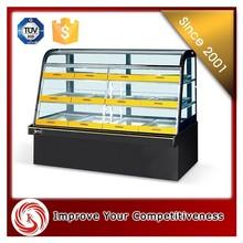 Acrylic / Glass / Stainless steel sweet showcase, KSL custom made display showcase for sweet shop