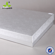Silver Color Decorative Shirt Box for Christmas Gift