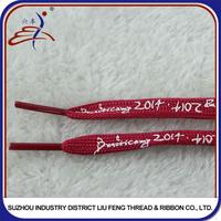 Roll packing 50mm shoe laces packaging