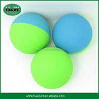 Promotional 60mm Hollow Rubber Super Bounce Balls