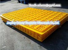 Plastic small folding chicken coop/poultry transport cage