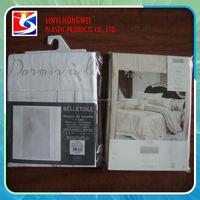 Stand Up Pvc/Eva Quilt Bag Plastic Bag For Pillow