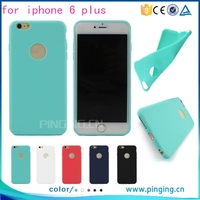 Newet ultra thin frosted tpu case for iphone 6 plus, bulk case for iphone 6 plus