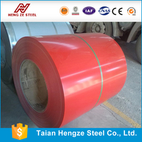 Color coated steel coil/pre painted g40 galvanized steel coil/Color Coated Corrugated Metal House Roofing Sheet