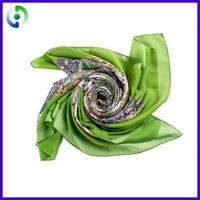 Good Quality famous brands silk scarves magic uniform scarf