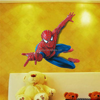 Spider Man Kids Room Sticker Boy Gift Decals Nursery Mural 3D Wall Decoration
