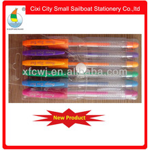 Factory directly new style fluorescent gel ink pen