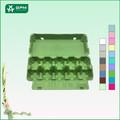 Embalaje 10 células Ecológico para los huevos de gallina, de embalaje para bandeja de envasado de huevo de gallina