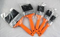 plastic handle paint brush sets