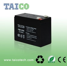 Taico storage battery 12v 9ah dry battery for UPS