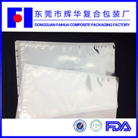 China suppliers dongguan Faihua 97 micron high temperature resisting steaming and boiling vacuum food bags
