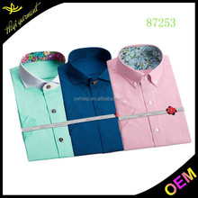 2015 latest formal shirt designs for men cheap button down shirts for wholesale
