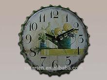 Retrostyle venta al por mayor reloj de pared para la decoración