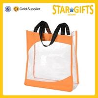 High Quality Fashion Cheap Clear Waterproof PVC Beach Bag