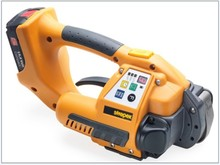 Battery-Powered PET Strapping Tools for pallets, cases, various packages