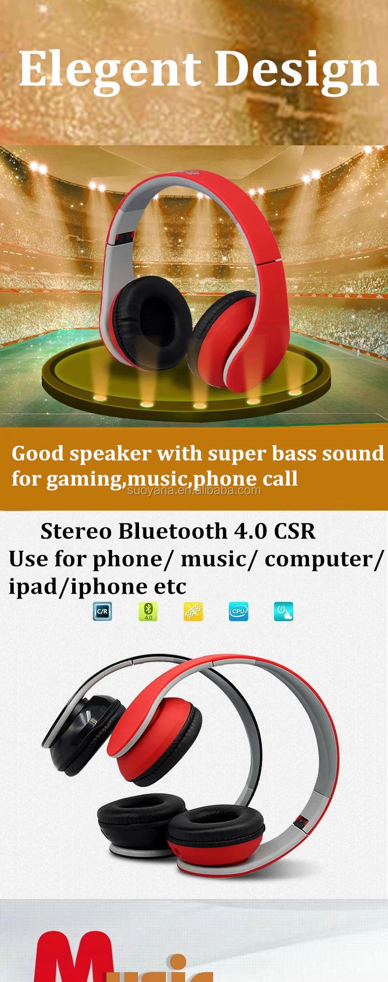 2014 New Style Wireless 4.0 Bluetooth Headphone