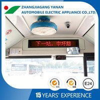Interior LED Display board with rolling message,with next stop information,