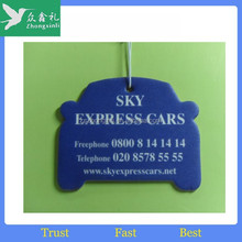 Promotional Hanging Paper Air Freshener with customized logo