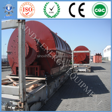 scrap tyre pyrolysis to oil production line of 15-20T/D of continuous model