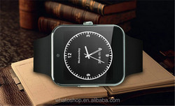 MTK6260A smart watch android dual sim 3G watch phone in Shenzhen factory latest wrist watch mobile phone