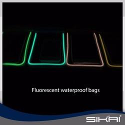 NEW fluorescent mobile phone waterproof bag for iphone6, Waterproof driving bag for xiaomi mi 4 SKN013