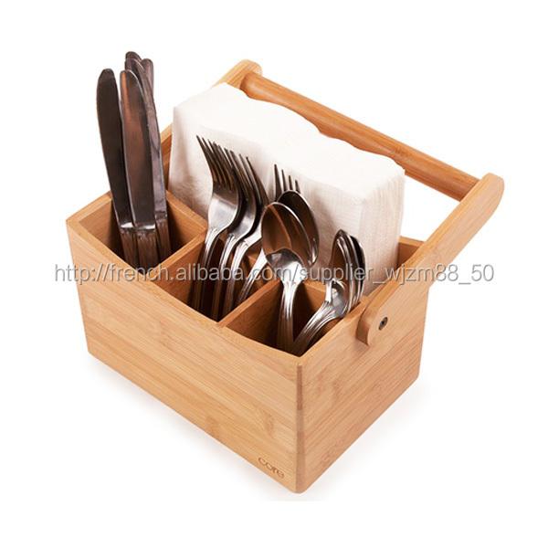 Bambou ustensiles de cuisine cadet cadet couverts - Instrument de cuisine ...