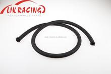 AN10 Black Nylon Braided Fuel Line Oil Gas Hose