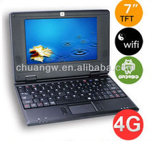 Cheapest 7 inch Google Via8880 Laptop Notebook Android 4.4 Laptop with free shipping
