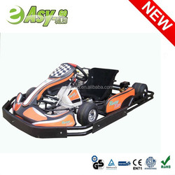 2015 hot 200cc/270cc 4 wheel racing go kart car with plastic safety bumper pass CE certificate