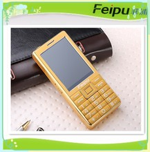 Feipu bulk 3.0 HD unbreakable Touch Screen MTK6261 mobile phone with big battery strong flashlight elder people phone