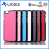 2015 new gadget skin border metal coating colourful mobile phone cover for iphone 6