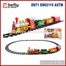 Tren de juguete que funciona con batería para Navidad
