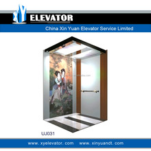 Cabin Decoration Elevator Cabin With Art Painting Elevator Cabin