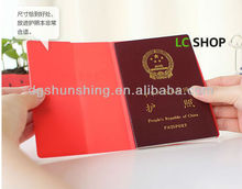 Fashion silicone passport case